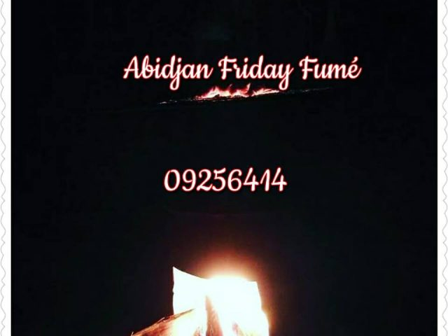 Abidjan friday fumé